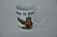 "Tasse ""Born To Frag"""