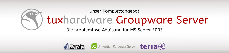 tuxhardware Groupware Server